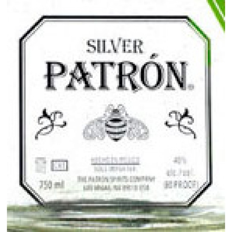 Patron Silver Tequila (750ML) image #1