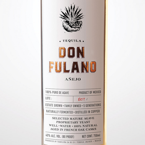 Don Fulano Anejo Tequila (750ML) image #1