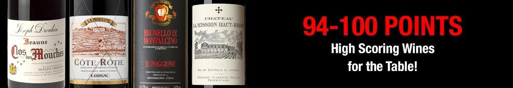 High Scoring Thanksgiving Wines