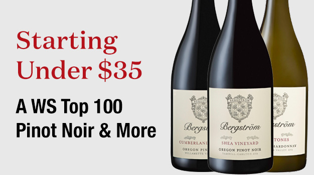 WS Top 100 Pinot Noir and More