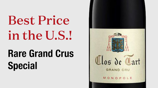 Best Price in the U.S.! Rare Grand Crus Special