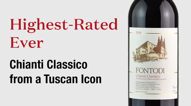 Highest-Rated Ever Chianti Classico from a Tuscan Icon