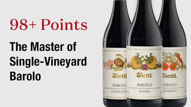 98+ Points The Master of Single-Vineyard Barolo